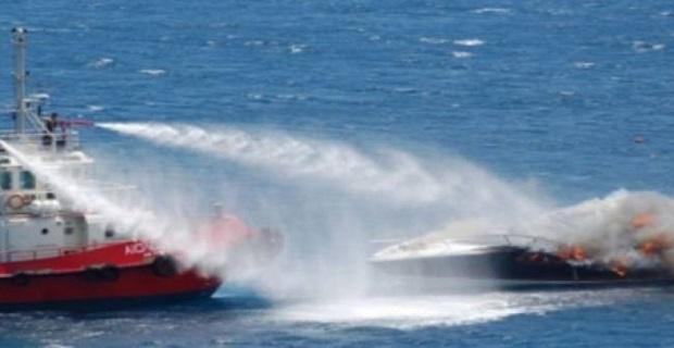 Πυρκαγιά και βύθιση Ε/Γ-Τ/Ρ σκάφους στην Ιθάκη - e-Nautilia.gr | Το Ελληνικό Portal για την Ναυτιλία. Τελευταία νέα, άρθρα, Οπτικοακουστικό Υλικό