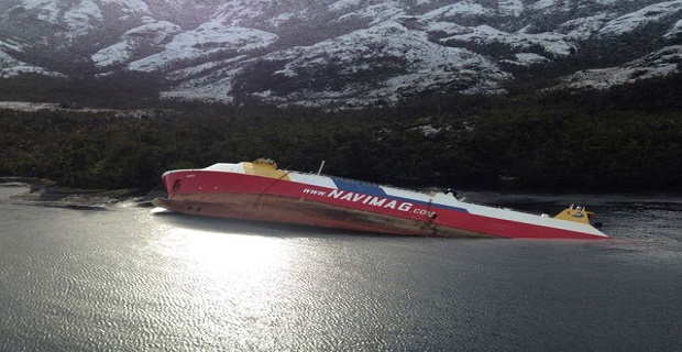 Προσάραξη επιβατηγού πλοίου στη Χιλή [pics] - e-Nautilia.gr   Το Ελληνικό Portal για την Ναυτιλία. Τελευταία νέα, άρθρα, Οπτικοακουστικό Υλικό