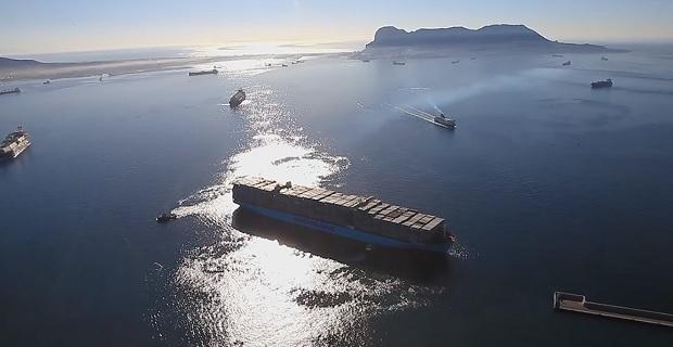 Παγκόσμιο ρεκόρ από το «Mary Maersk» [video] - e-Nautilia.gr   Το Ελληνικό Portal για την Ναυτιλία. Τελευταία νέα, άρθρα, Οπτικοακουστικό Υλικό