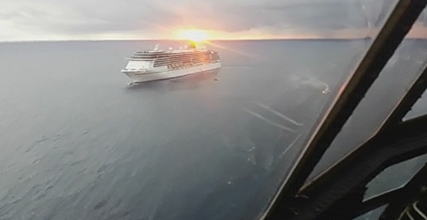 Αερομεταφορά αίματος σε κρουαζιερόπλοιο [video] - e-Nautilia.gr | Το Ελληνικό Portal για την Ναυτιλία. Τελευταία νέα, άρθρα, Οπτικοακουστικό Υλικό