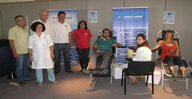 ΑΝΕΚ LINES: Επιτυχημένη η 8η Εθελοντική Αιμοδοσία - e-Nautilia.gr | Το Ελληνικό Portal για την Ναυτιλία. Τελευταία νέα, άρθρα, Οπτικοακουστικό Υλικό