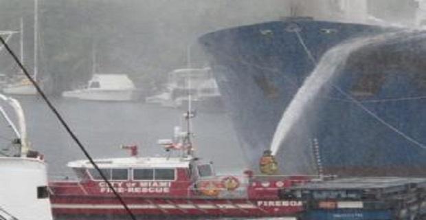 Φωτιά σε φορτηγό πλοίο [pics] - e-Nautilia.gr | Το Ελληνικό Portal για την Ναυτιλία. Τελευταία νέα, άρθρα, Οπτικοακουστικό Υλικό