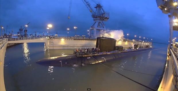 Καθελκύστηκε το υποβρύχιο των ΗΠΑ «John Warner» [video] - e-Nautilia.gr   Το Ελληνικό Portal για την Ναυτιλία. Τελευταία νέα, άρθρα, Οπτικοακουστικό Υλικό