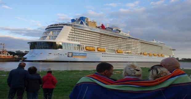 Το μεγαλύτερο κρουαζιερόπλοιο στον κόσμο διασχίζει το ποτάμι Ems [pics] - e-Nautilia.gr | Το Ελληνικό Portal για την Ναυτιλία. Τελευταία νέα, άρθρα, Οπτικοακουστικό Υλικό