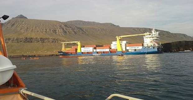 Προσάραξη Κυπριακού πλοίου κοντέινερ [pics] - e-Nautilia.gr | Το Ελληνικό Portal για την Ναυτιλία. Τελευταία νέα, άρθρα, Οπτικοακουστικό Υλικό