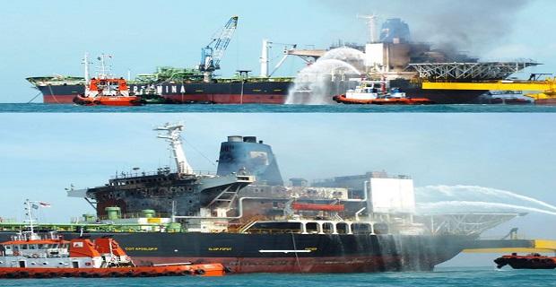 Πυρκαγιά σε πλοίο FSO – ένας αγνοούμενος [pics] - e-Nautilia.gr | Το Ελληνικό Portal για την Ναυτιλία. Τελευταία νέα, άρθρα, Οπτικοακουστικό Υλικό