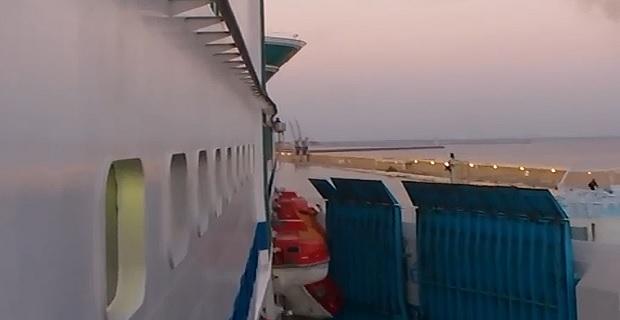 Βίντεο με σύγκρουση επιβατηγών πλοίων μέσα στο λιμάνι! - e-Nautilia.gr | Το Ελληνικό Portal για την Ναυτιλία. Τελευταία νέα, άρθρα, Οπτικοακουστικό Υλικό