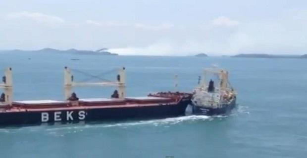 Σύγκρουση φορτηγών πλοίων στα  στενά της Σιγκαπούρης - e-Nautilia.gr | Το Ελληνικό Portal για την Ναυτιλία. Τελευταία νέα, άρθρα, Οπτικοακουστικό Υλικό