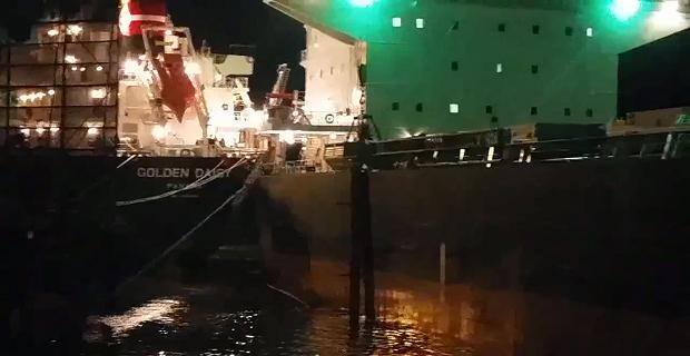 Σύγκρουση πλοίων λόγω… Παλίρροιας(;) [video] - e-Nautilia.gr | Το Ελληνικό Portal για την Ναυτιλία. Τελευταία νέα, άρθρα, Οπτικοακουστικό Υλικό
