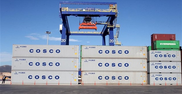 Ο κινεζικός κολοσσός κάνει το 1/5 του τζίρου του στο ελληνικό λιμάνι - e-Nautilia.gr | Το Ελληνικό Portal για την Ναυτιλία. Τελευταία νέα, άρθρα, Οπτικοακουστικό Υλικό