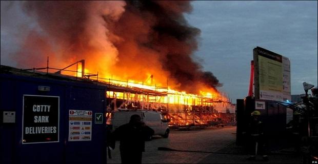 Στις φλόγες το ιστορικό ιστιοφόρο «Cutty Sark»[pics] - e-Nautilia.gr   Το Ελληνικό Portal για την Ναυτιλία. Τελευταία νέα, άρθρα, Οπτικοακουστικό Υλικό