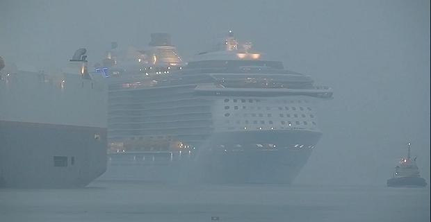 Με ομίχλη η άφιξη του «Quantum of the Seas» στο Σαουθάμπτον [video] - e-Nautilia.gr   Το Ελληνικό Portal για την Ναυτιλία. Τελευταία νέα, άρθρα, Οπτικοακουστικό Υλικό