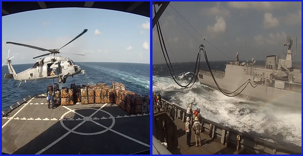 Πλοίο ανεφοδιασμού του ναυτικού των ΗΠΑ εν δράση! [video] - e-Nautilia.gr | Το Ελληνικό Portal για την Ναυτιλία. Τελευταία νέα, άρθρα, Οπτικοακουστικό Υλικό