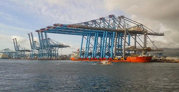 Έτοιμοι οι σούπερ γερανοί για το λιμάνι του Αλτζεσίρας - e-Nautilia.gr | Το Ελληνικό Portal για την Ναυτιλία. Τελευταία νέα, άρθρα, Οπτικοακουστικό Υλικό
