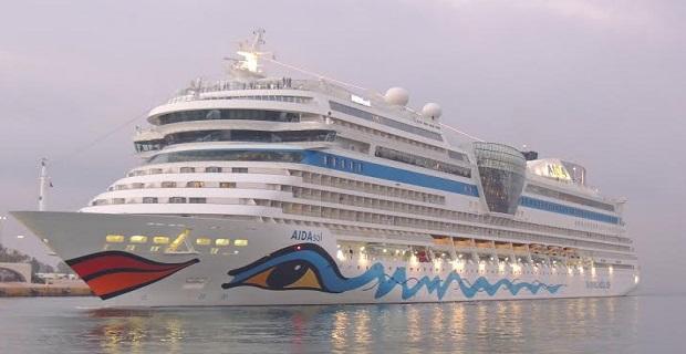 Παρθενική άφιξη του «AIDAsol» στον Πειραιά [video] - e-Nautilia.gr | Το Ελληνικό Portal για την Ναυτιλία. Τελευταία νέα, άρθρα, Οπτικοακουστικό Υλικό
