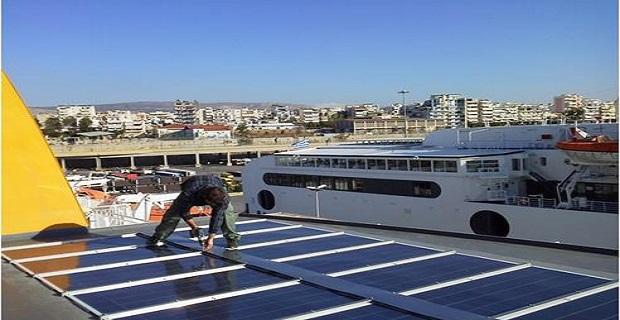 Εγκαταστάθηκαν ηλιακά πάνελ στο Blue Star Delos - e-Nautilia.gr | Το Ελληνικό Portal για την Ναυτιλία. Τελευταία νέα, άρθρα, Οπτικοακουστικό Υλικό