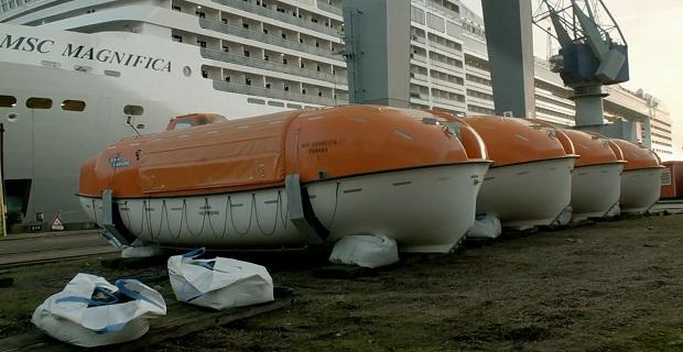 Ο γρήγορος δεξαμενισμός του κρουαζιερόπλοιου «MSC Magnifica» [video] - e-Nautilia.gr | Το Ελληνικό Portal για την Ναυτιλία. Τελευταία νέα, άρθρα, Οπτικοακουστικό Υλικό