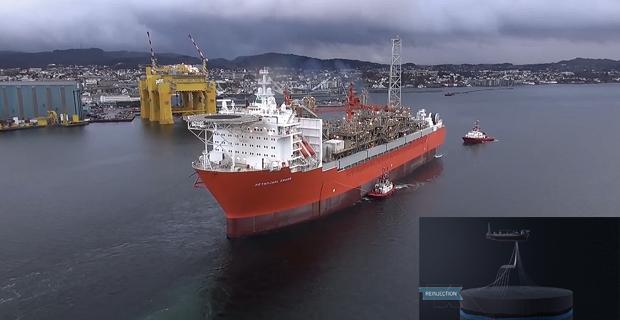 Εντυπωσιακά βίντεο με ένα από τα μεγαλύτερα FPSO στον κόσμο! [video] - e-Nautilia.gr   Το Ελληνικό Portal για την Ναυτιλία. Τελευταία νέα, άρθρα, Οπτικοακουστικό Υλικό