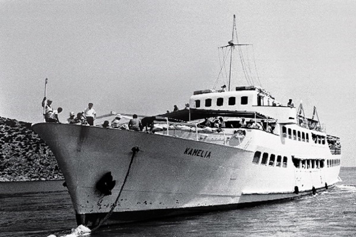 ΚΑΜΕΛΙΑ: Το πρώτο «μεγάλο» επιβατηγό που έφτιαξαν ελληνικά χέρια (Photos+Video) - e-Nautilia.gr | Το Ελληνικό Portal για την Ναυτιλία. Τελευταία νέα, άρθρα, Οπτικοακουστικό Υλικό
