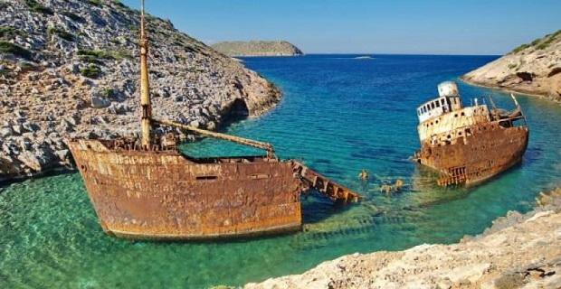 Το μελαγχολικό τοπίο του ναυαγίου «Ολυμπία» στην Αμοργό (Video + Photos) - e-Nautilia.gr   Το Ελληνικό Portal για την Ναυτιλία. Τελευταία νέα, άρθρα, Οπτικοακουστικό Υλικό