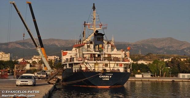Απασφαλίστηκε η άγκυρα φορτηγού πλοίου στο Μεσολόγγι - e-Nautilia.gr   Το Ελληνικό Portal για την Ναυτιλία. Τελευταία νέα, άρθρα, Οπτικοακουστικό Υλικό