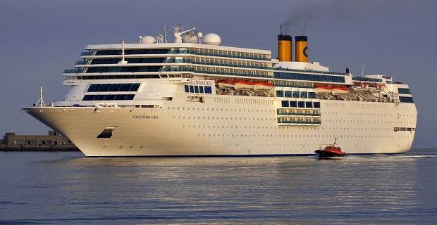 """«Ποδαρικό» στον Πειραιά με το """"COSTA NEOROMANTICA"""" - e-Nautilia.gr   Το Ελληνικό Portal για την Ναυτιλία. Τελευταία νέα, άρθρα, Οπτικοακουστικό Υλικό"""