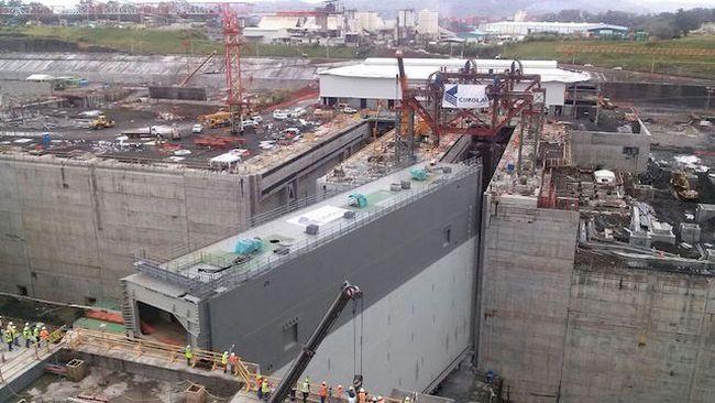 Ξεκίνησε η εγκατάσταση των πορτών στο κανάλι του Παναμά - e-Nautilia.gr | Το Ελληνικό Portal για την Ναυτιλία. Τελευταία νέα, άρθρα, Οπτικοακουστικό Υλικό