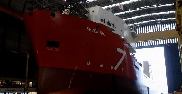 Η εντυπωσιακή καθέλκυση του πλοίου «Seven Rio» [video] - e-Nautilia.gr | Το Ελληνικό Portal για την Ναυτιλία. Τελευταία νέα, άρθρα, Οπτικοακουστικό Υλικό