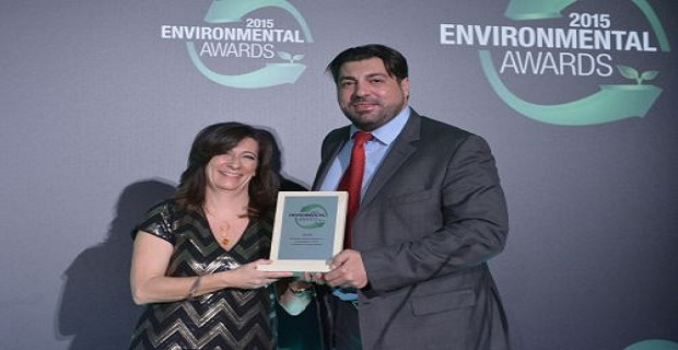 «Environmental Awards 2015» για τον ΟΛΗ - e-Nautilia.gr | Το Ελληνικό Portal για την Ναυτιλία. Τελευταία νέα, άρθρα, Οπτικοακουστικό Υλικό