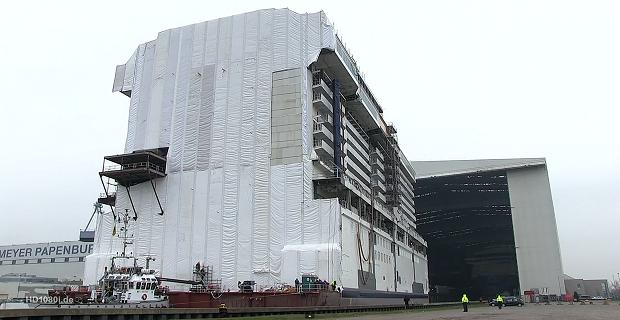 Εντυπωσιακό βίντεο από την κατασκευή κρουαζιερόπλοιου στη Γερμανία [video] - e-Nautilia.gr | Το Ελληνικό Portal για την Ναυτιλία. Τελευταία νέα, άρθρα, Οπτικοακουστικό Υλικό