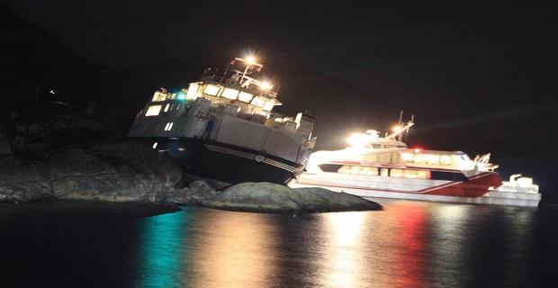 Προσάραξη πλοίου Ro/Ro στη Νορβηγία [pics] - e-Nautilia.gr | Το Ελληνικό Portal για την Ναυτιλία. Τελευταία νέα, άρθρα, Οπτικοακουστικό Υλικό