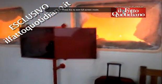 Δείτε το πρώτο βίντεο από το εσωτερικό του πλοίου την στιγμή της πυρκαγιάς - e-Nautilia.gr | Το Ελληνικό Portal για την Ναυτιλία. Τελευταία νέα, άρθρα, Οπτικοακουστικό Υλικό