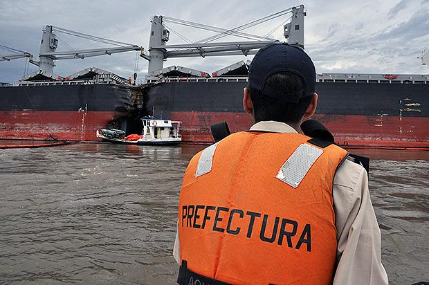 Σύγκρουση φορτηγού πλοίου με δεξαμενόπλοιο [Pics] - e-Nautilia.gr | Το Ελληνικό Portal για την Ναυτιλία. Τελευταία νέα, άρθρα, Οπτικοακουστικό Υλικό