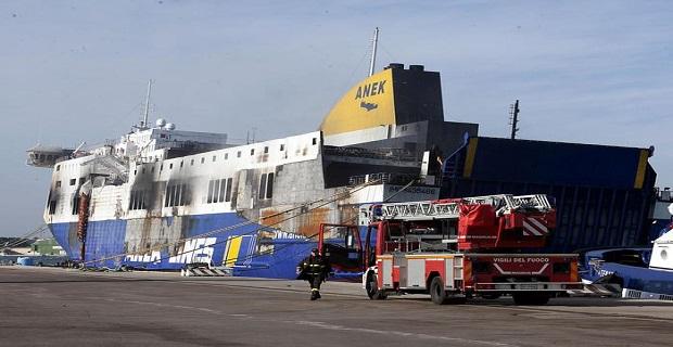 Συγκλονιστικές φωτογραφίες από το μοιραίο Norman Atlantic στο λιμάνι του Μπρίντεζι [pics] - e-Nautilia.gr | Το Ελληνικό Portal για την Ναυτιλία. Τελευταία νέα, άρθρα, Οπτικοακουστικό Υλικό