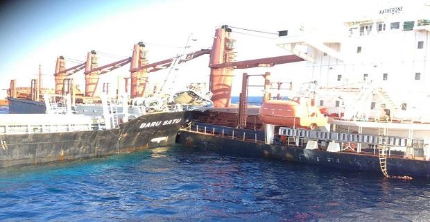 Λεπτό προς λεπτό η σύγκρουση δύο πλοίων στο στενό του Καφηρέα - e-Nautilia.gr | Το Ελληνικό Portal για την Ναυτιλία. Τελευταία νέα, άρθρα, Οπτικοακουστικό Υλικό