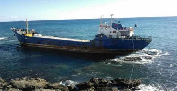 Aκυβέρνητο φορτηγό πλοίο προσάραξε σε βραχονησίδα νότια της Πάτμου - e-Nautilia.gr | Το Ελληνικό Portal για την Ναυτιλία. Τελευταία νέα, άρθρα, Οπτικοακουστικό Υλικό