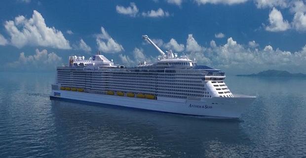 Το «Anthem of the Seas» έφτασε στο Αμβούργο (Video) - e-Nautilia.gr | Το Ελληνικό Portal για την Ναυτιλία. Τελευταία νέα, άρθρα, Οπτικοακουστικό Υλικό