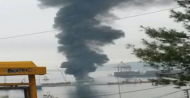 Ανακοίνωση της ΠΕΝΕΝ για την πυρκαγιά στο High Speed 5 - e-Nautilia.gr | Το Ελληνικό Portal για την Ναυτιλία. Τελευταία νέα, άρθρα, Οπτικοακουστικό Υλικό