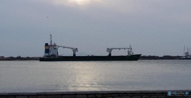 Φωτογραφίες από το φορτηγό πλοίο που προσάραξε στο Μεσολόγγι - e-Nautilia.gr | Το Ελληνικό Portal για την Ναυτιλία. Τελευταία νέα, άρθρα, Οπτικοακουστικό Υλικό