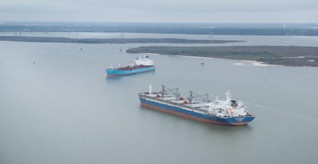 Σύγκρουση πλοίων στο κανάλι του Χιούστον[vid+pics] - e-Nautilia.gr   Το Ελληνικό Portal για την Ναυτιλία. Τελευταία νέα, άρθρα, Οπτικοακουστικό Υλικό