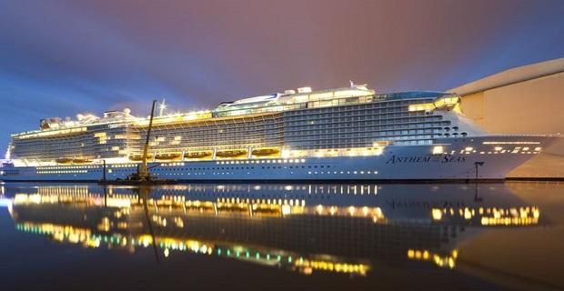 Παρελήφθη το Anthem of the Seas από τη Royal Caribbean [pics] - e-Nautilia.gr | Το Ελληνικό Portal για την Ναυτιλία. Τελευταία νέα, άρθρα, Οπτικοακουστικό Υλικό