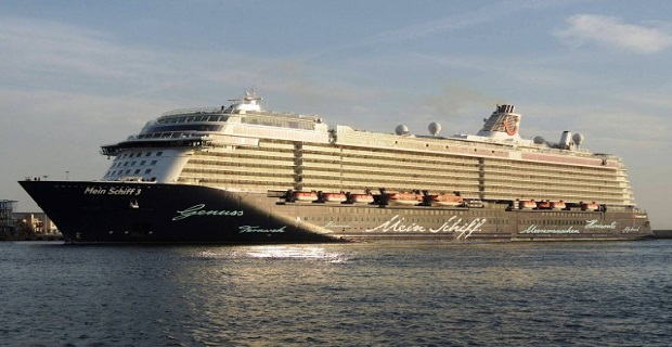 Η αναχώρησή του «MEIN SCHIFF 3» από το λιμάνι του Πειραιά[vid] - e-Nautilia.gr | Το Ελληνικό Portal για την Ναυτιλία. Τελευταία νέα, άρθρα, Οπτικοακουστικό Υλικό