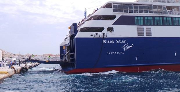Καλωσόρισες «Blue Star Patmos»…[video] - e-Nautilia.gr | Το Ελληνικό Portal για την Ναυτιλία. Τελευταία νέα, άρθρα, Οπτικοακουστικό Υλικό
