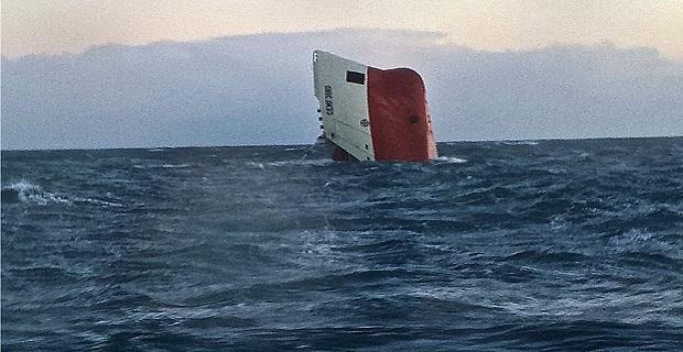 Βυθίστηκε φορτηγό πλοίο - e-Nautilia.gr | Το Ελληνικό Portal για την Ναυτιλία. Τελευταία νέα, άρθρα, Οπτικοακουστικό Υλικό