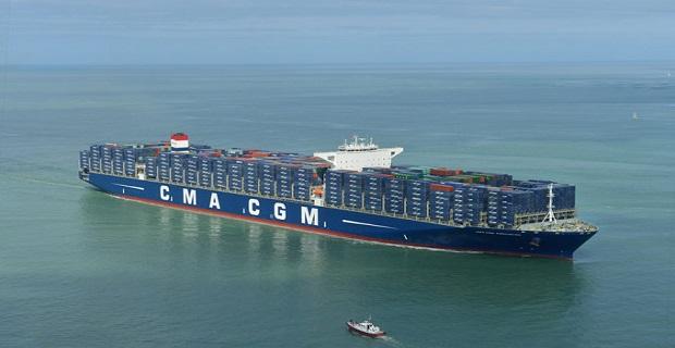 Βάφτισε το μεγαλύτερο πλοίο της η CMA CGM - e-Nautilia.gr   Το Ελληνικό Portal για την Ναυτιλία. Τελευταία νέα, άρθρα, Οπτικοακουστικό Υλικό