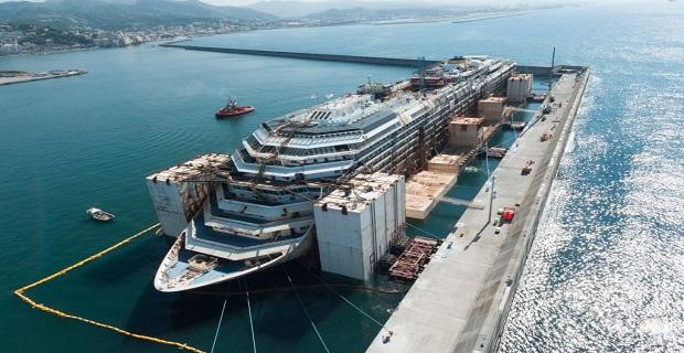 Το Costa Concordia πάει για διάλυση σήμερα [video] - e-Nautilia.gr | Το Ελληνικό Portal για την Ναυτιλία. Τελευταία νέα, άρθρα, Οπτικοακουστικό Υλικό