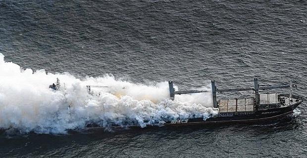 Κίνδυνος έκρηξης από πυρκαγιά σε φορτηγό πλοίο βόρεια της Γερμανίας[pics] - e-Nautilia.gr | Το Ελληνικό Portal για την Ναυτιλία. Τελευταία νέα, άρθρα, Οπτικοακουστικό Υλικό