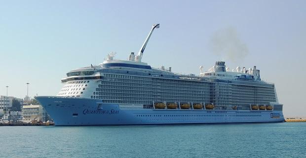 «Quantum of the Seas»:Το μεγαλύτερο κρουαζιερόπλοιο που έχει έρθει ποτέ στον Πειραιά[vid] - e-Nautilia.gr | Το Ελληνικό Portal για την Ναυτιλία. Τελευταία νέα, άρθρα, Οπτικοακουστικό Υλικό