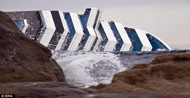 Βιβλίο για τη βύθιση του Concordia έγραψε ο καπετάνιος του - e-Nautilia.gr | Το Ελληνικό Portal για την Ναυτιλία. Τελευταία νέα, άρθρα, Οπτικοακουστικό Υλικό