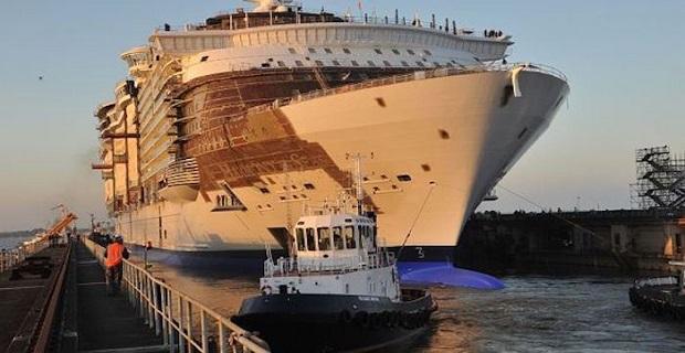 Η καθέλκυση του μεγαλύτερου κρουαζιερόπλοιου παγκοσμίως (Video+Photos) - e-Nautilia.gr   Το Ελληνικό Portal για την Ναυτιλία. Τελευταία νέα, άρθρα, Οπτικοακουστικό Υλικό
